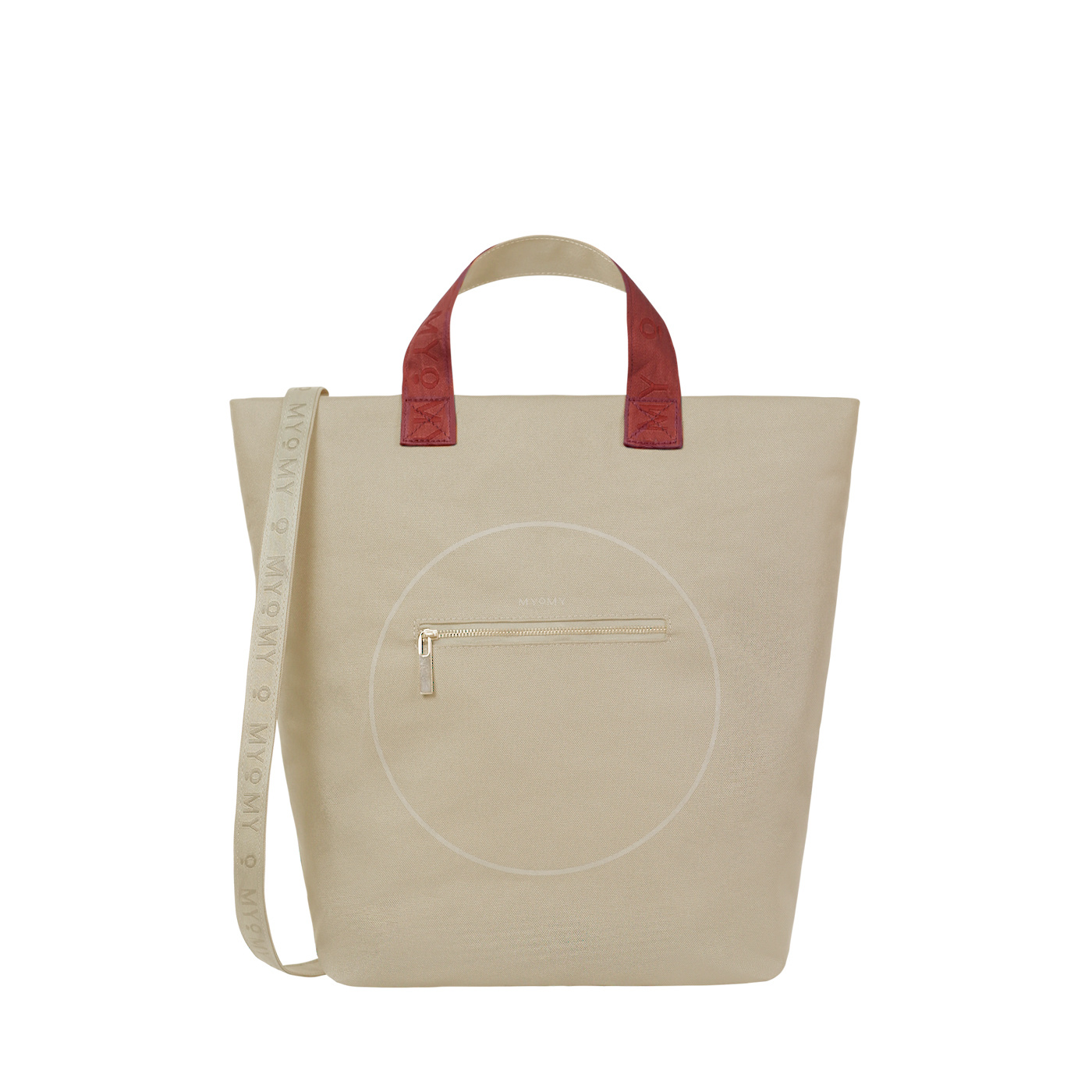 MYOMY Circle Shopper RPTE Zand