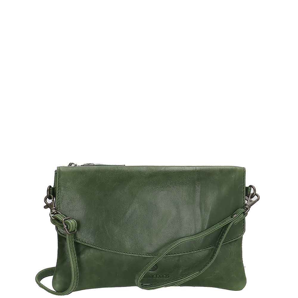 Micmacbags Porto Clutch Groen