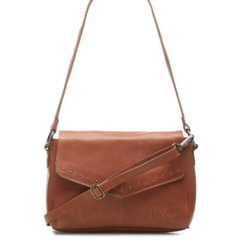 Chabo Bags Susy Studs Medium Camel