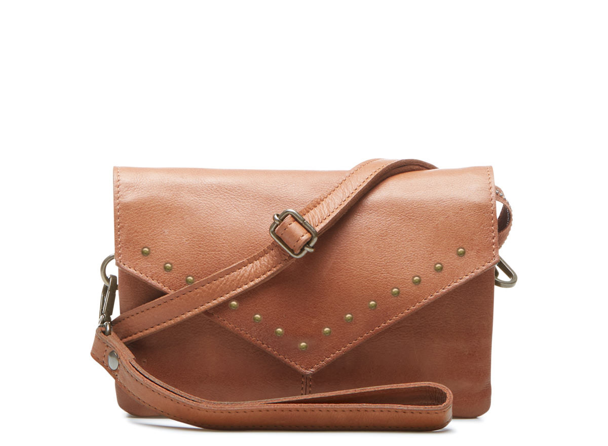 Chabo Bags Ivy Studs Camel