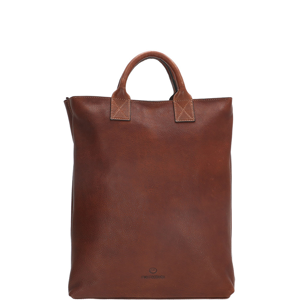 Micmacbags Discover Rugzak 15 Inch Donkercognac