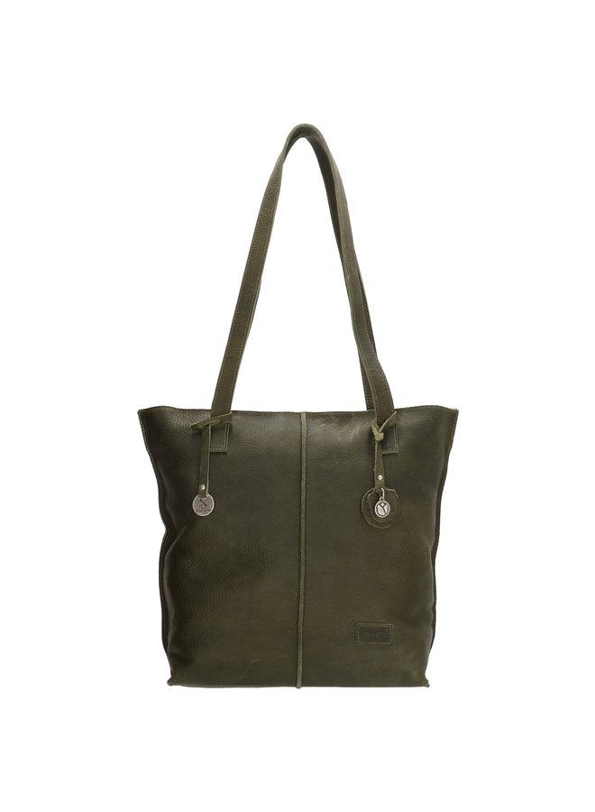 Shopper Tulp #01 Small Green
