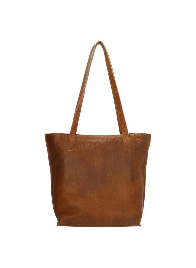 Shopper Tulp #01 Small Cognac