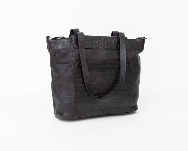 BAG2BAG Shopper Mora Zwart