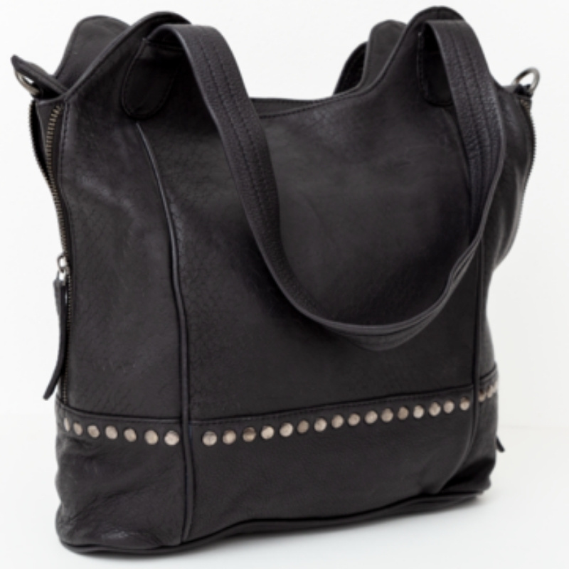 BAG2BAG Shopper Merida Zwart