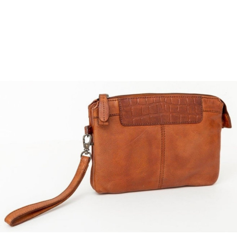 BAG2BAG Clutch Mora Cognac