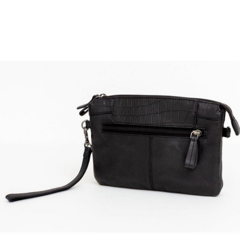 BAG2BAG Clutch Mora Zwart