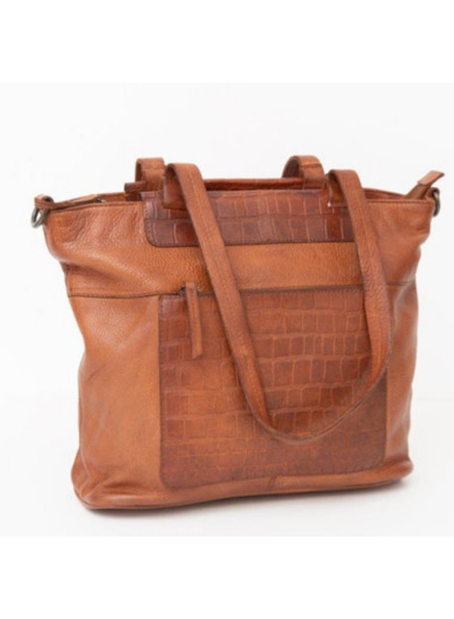 Shopper Mora Cognac