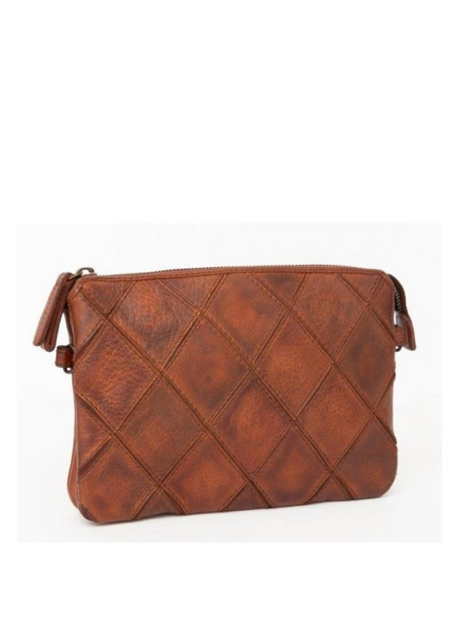 Clutch Madrid Cognac