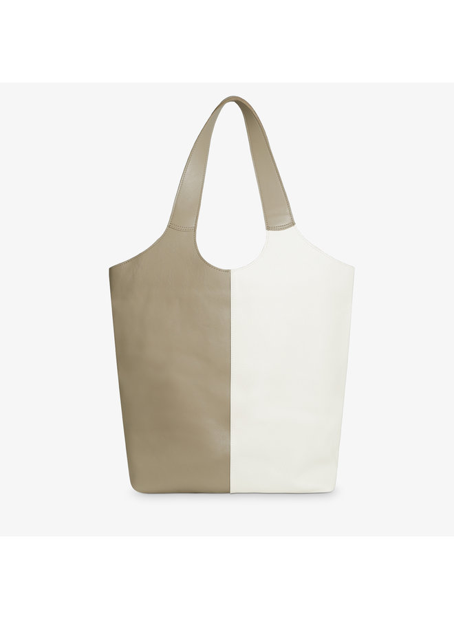 Shopper MSB Mix Off White and Sand