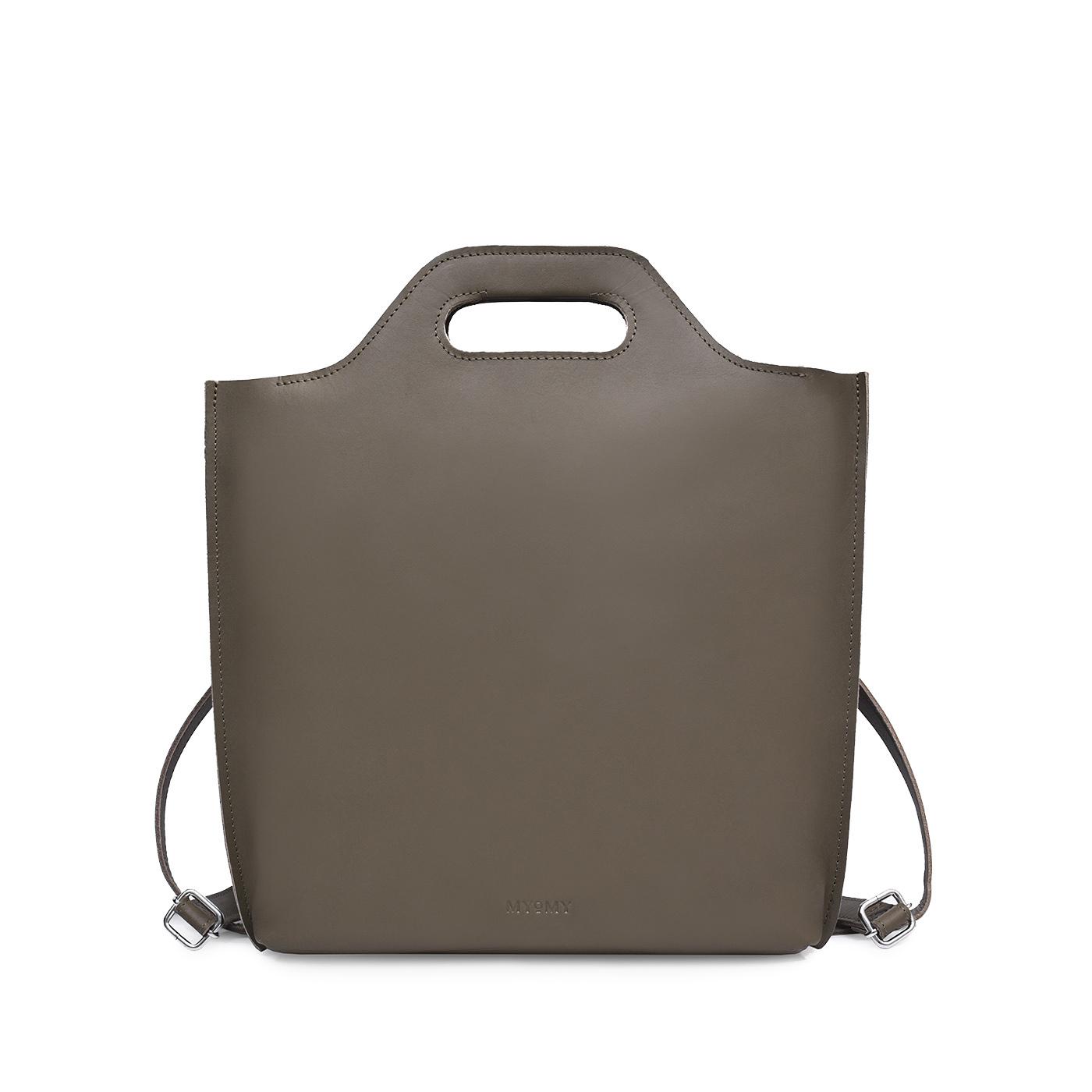 MYoMY MCB Backbag 12 Inch Hunter Taupe