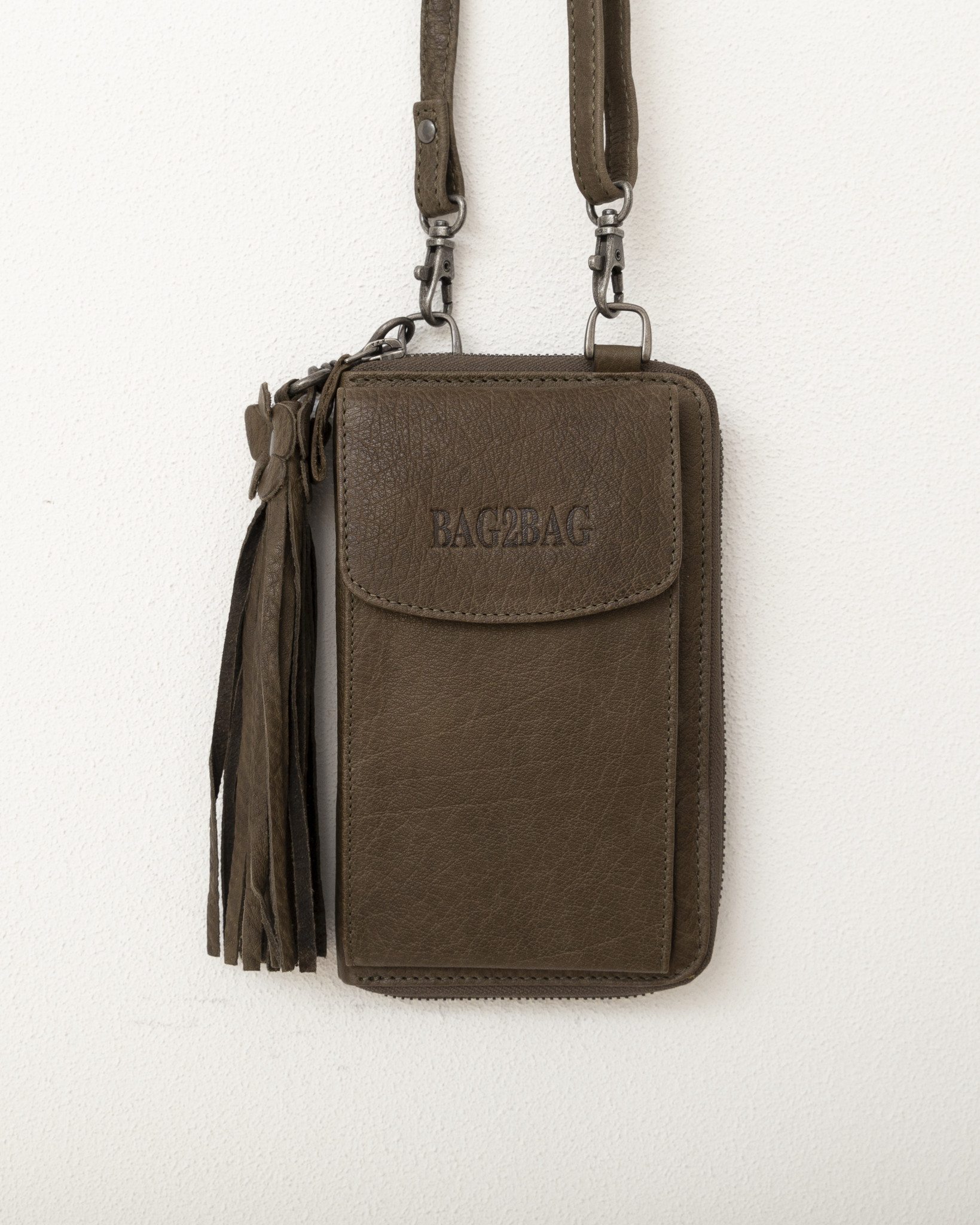 BAG2BAG Schoudertasje Tennessee Olive