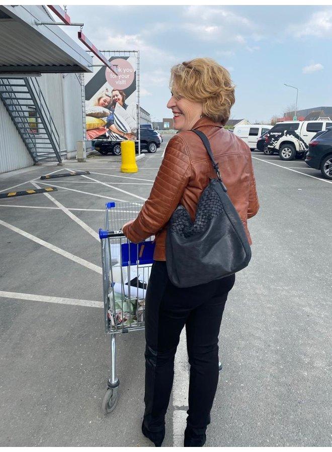 Shopper Lecce Zwart