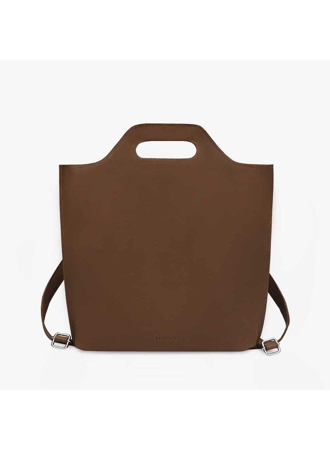 MCB Backbag 12 Inch Hunter Mid Brown