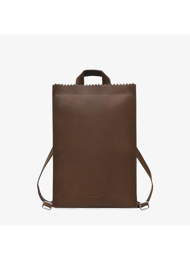 MPB Backbag Hunter Mid Brown