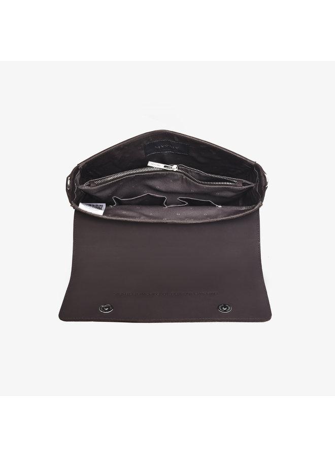MLB Handbag Hunter Chocolate Brown