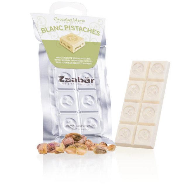 Zaabar Blanc pistaches grillées
