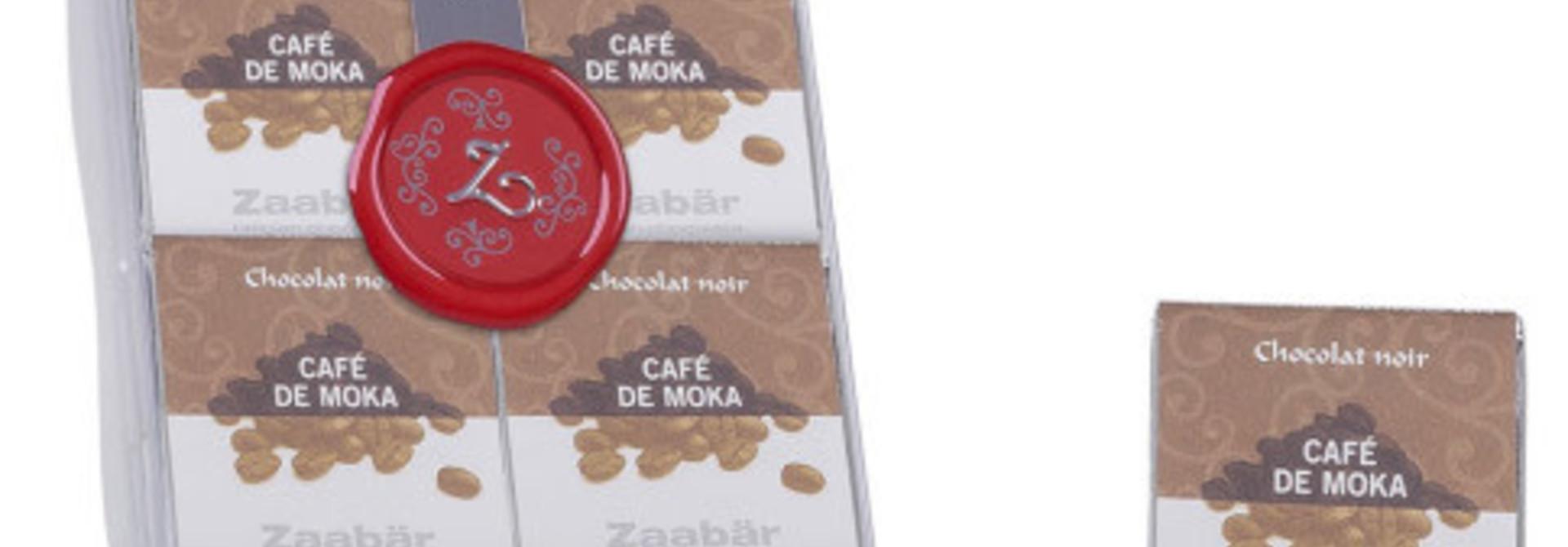 Napolitains noir café Moka 18 pieces