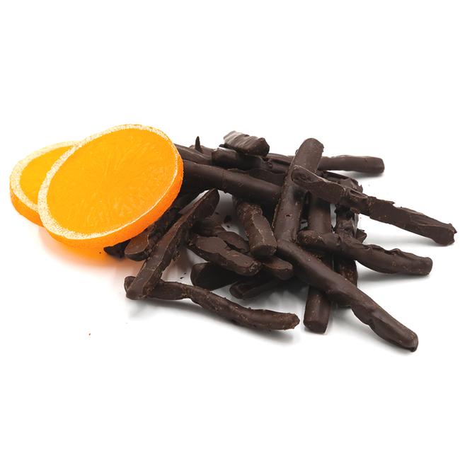 Chocomeli Orangettes (dark) 100Grs