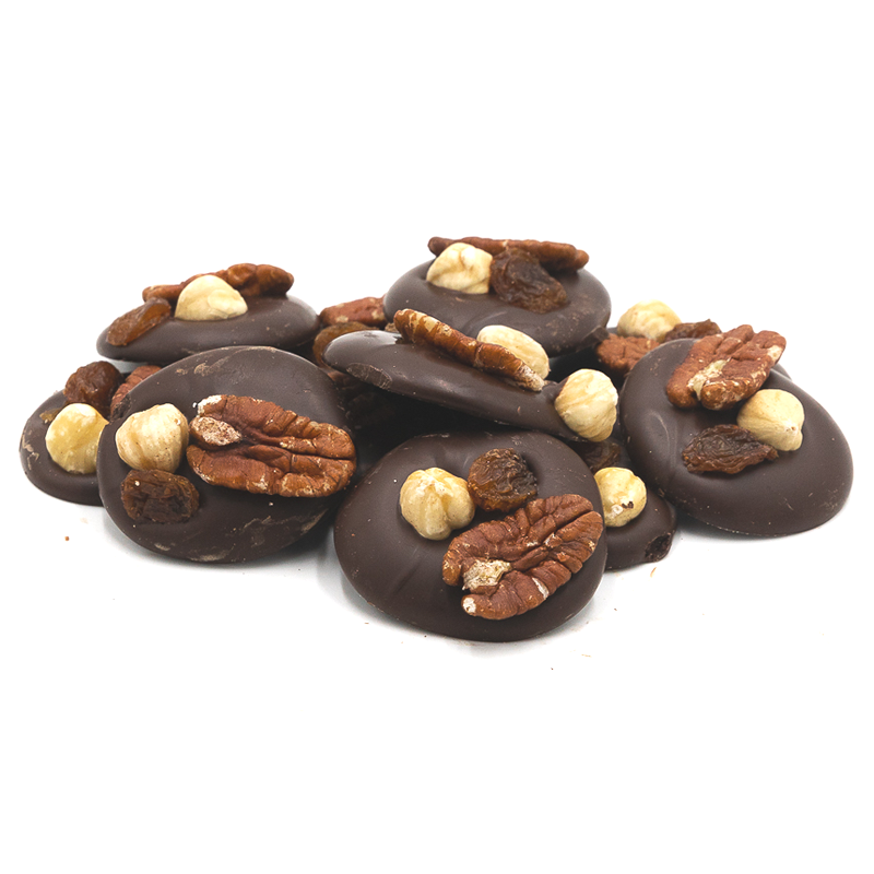 Dark with pecan, nuts & grapes-1