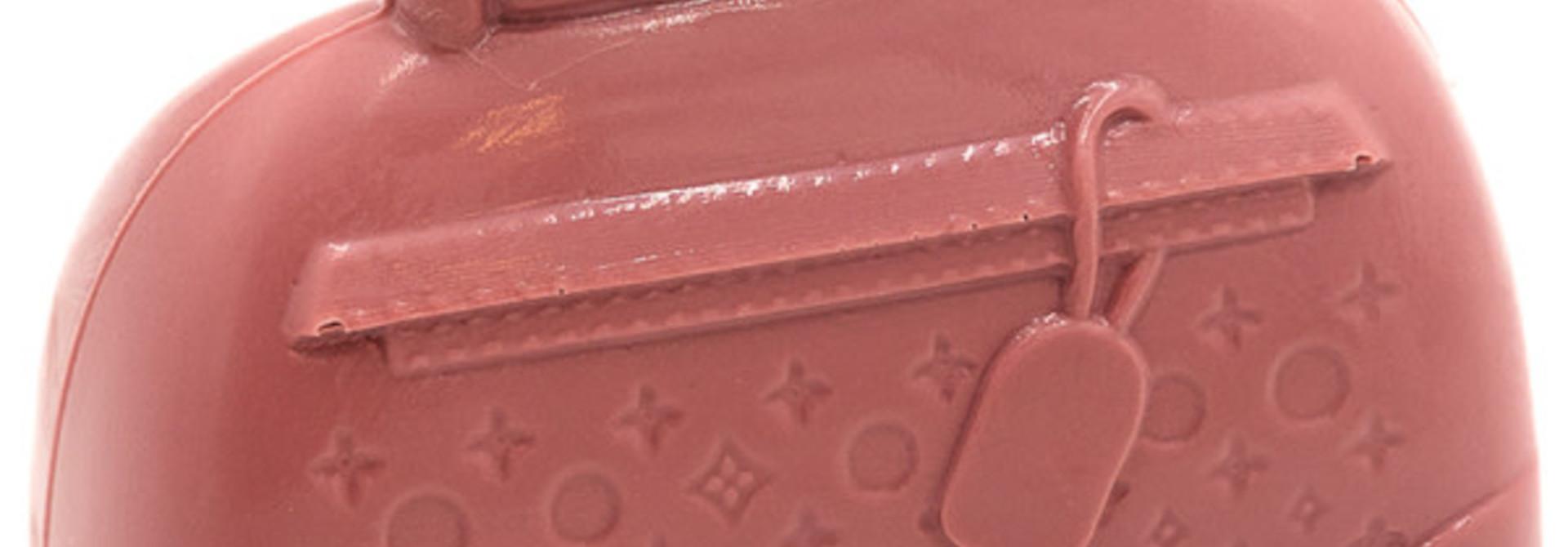 Luxury chocolate bag (ruby)