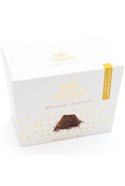 Belgian truffles (salted caramel)