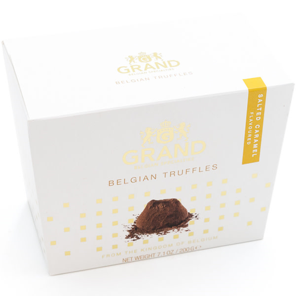 Belgian truffles (salted caramel)-1