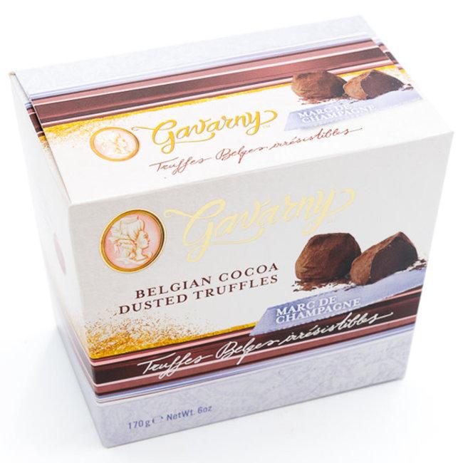Miss Gavarny Belgian cocoa dusted truffles (champagne)