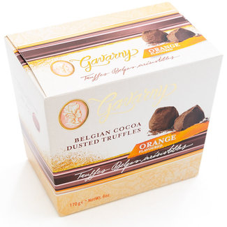 Miss Gavarny Belgian cocoa dusted truffles (orange)