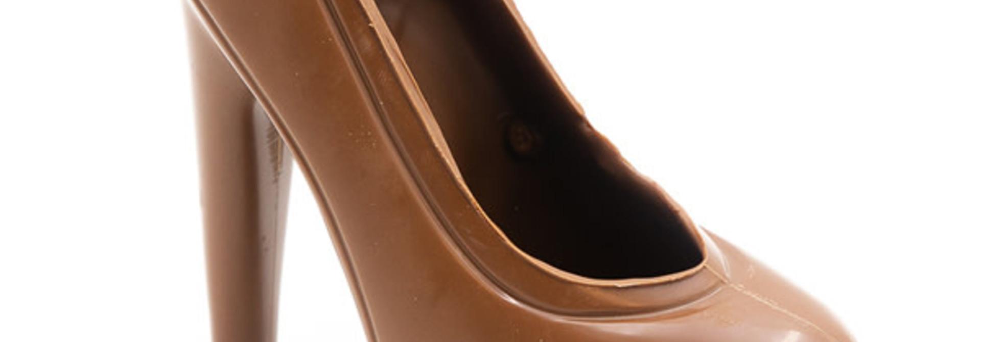 XL high heels (milk)