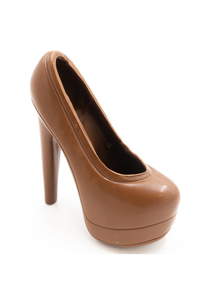 XL high heels (milk)