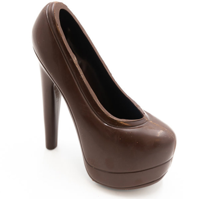Chocomeli XL high heels (dark)