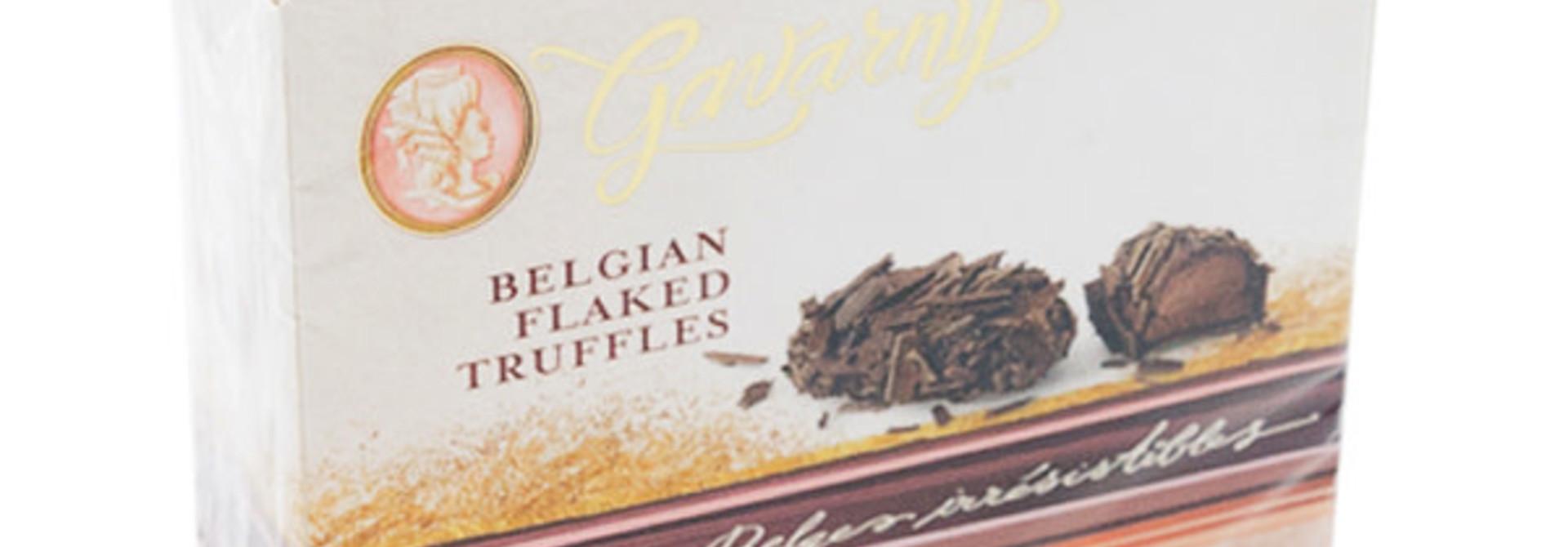 Belgian flaked truffles (dark)