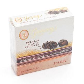 Miss Gavarny Belgian flaked truffles (dark)