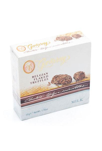 Belgian flaked truffles (milk)