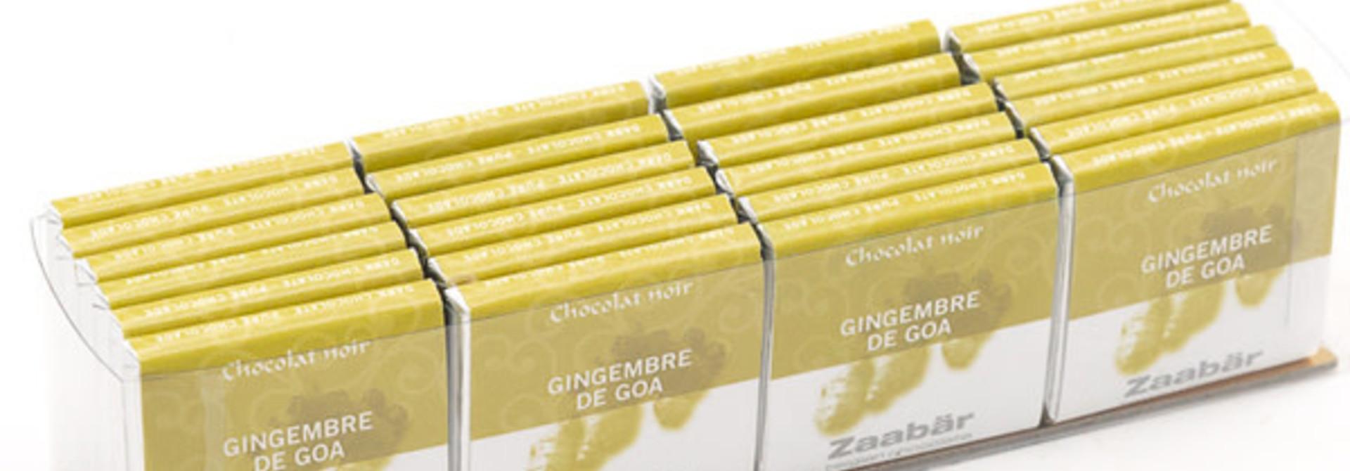 Noir gingembre 24 pieces