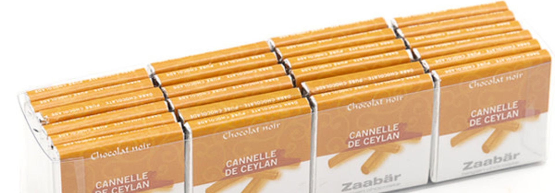 Noir cannelle 24 pieces