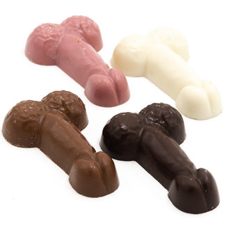 Chocomeli Mixed chocolate penis (x4)