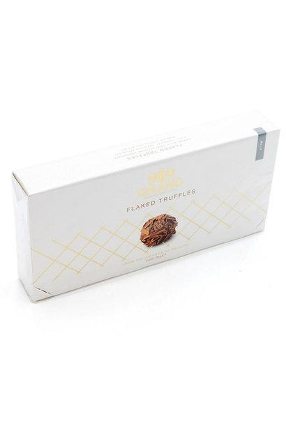 Flaked truffles (milk)