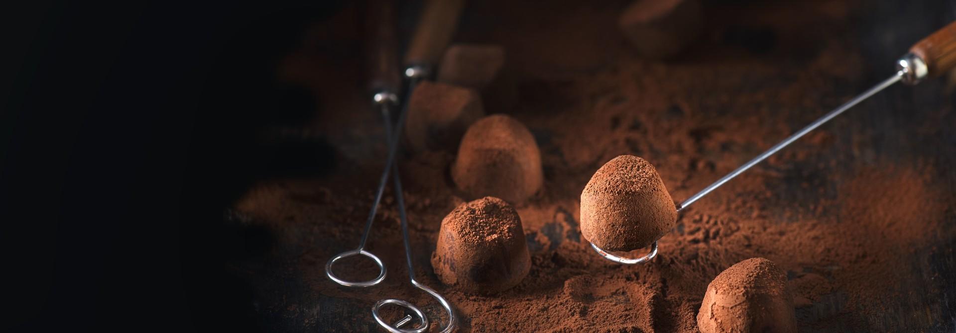 Belgian handmade truffles