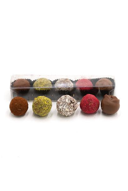 Box of 5 truffles (mix)