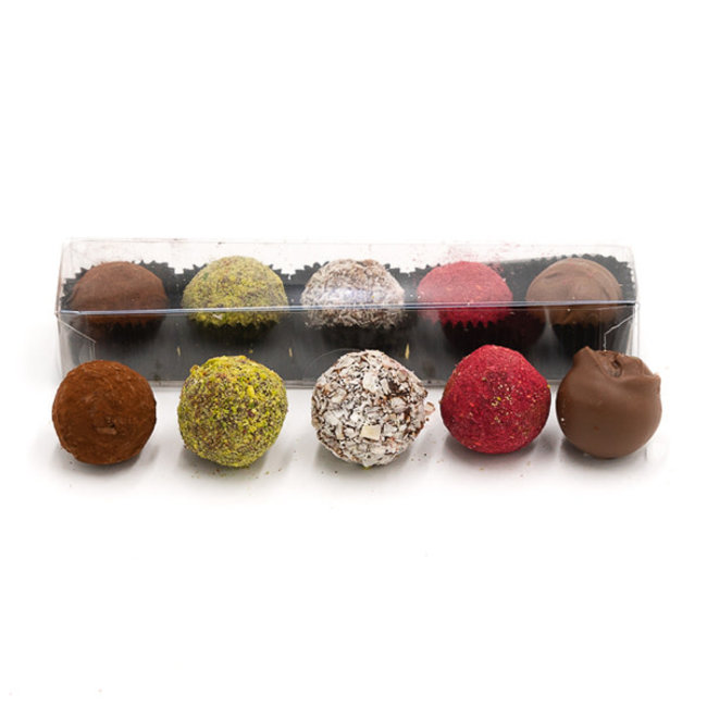 Chocomeli Box of 5 truffles (mix)
