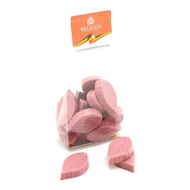 Chocomeli Leaves (ruby) 150 Grs