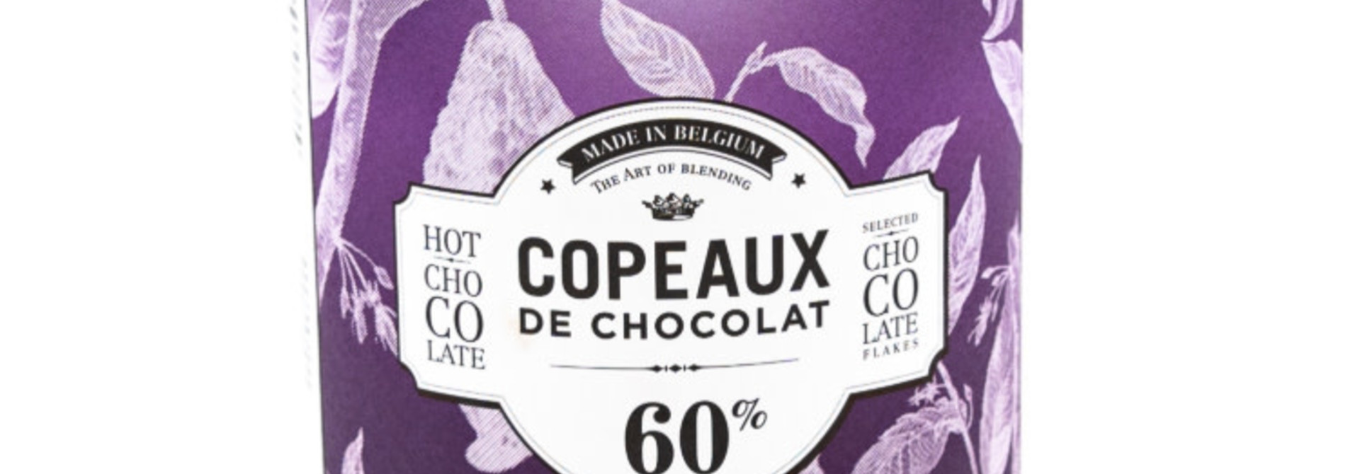 Dolfin box 350g dark chocolate flakes 60% cocoa