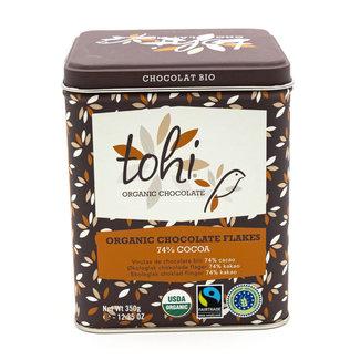 Tohi Flakes box 350g dark 74% cocoa