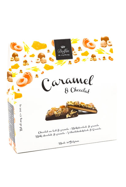 Box 200g milk chocolate (granola)
