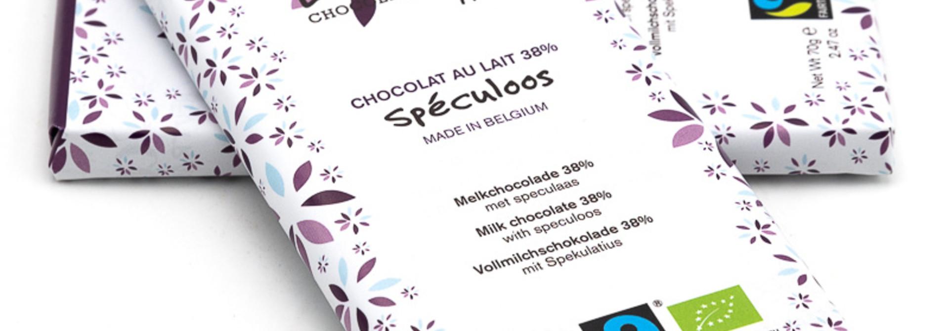 Tohi milk chocolate (speculoos)