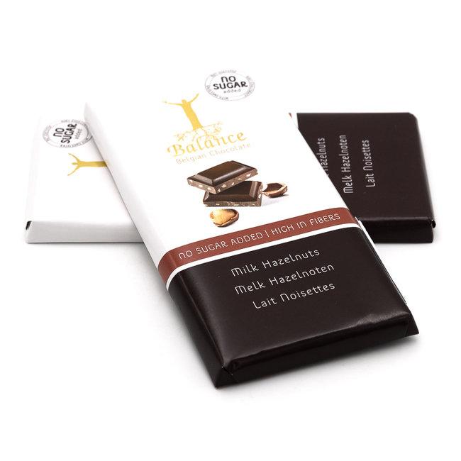 Balance Chocolate bar (milk hazelnuts)