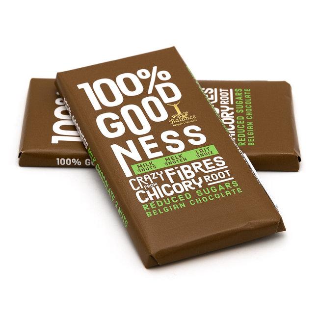 Balance Chocolate bar (milk 3 nuts)
