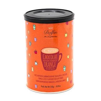 Dolfin Chocolate powder (orange & spices) 250Grs